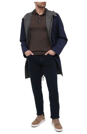 Мужские джинсы ZILLI SPORT темно-синего цвета, арт. MCU-00510-DEBB9/S001 | Фото 2