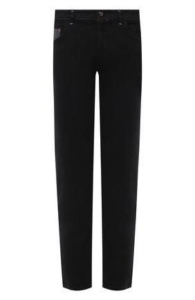 Мужские джинсы ZILLI SPORT черного цвета, арт. MCU-00531-DEBK9/S001 | Фото 1
