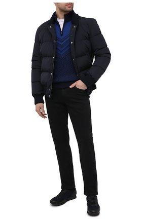 Мужские джинсы ZILLI SPORT черного цвета, арт. MCU-00531-DEBK9/S001 | Фото 2