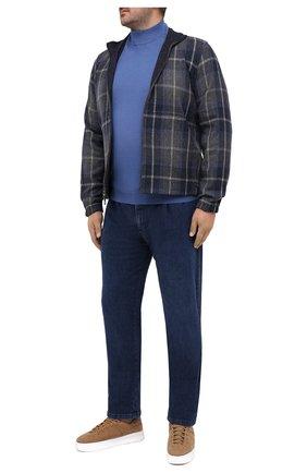 Мужские джинсы ZILLI SPORT синего цвета, арт. MCU-00600-HCBL6/S001 | Фото 2