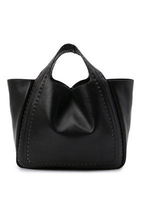 Женский сумка-шопер valentino garavani atelier VALENTINO черного цвета, арт. UW0B0H86/GXU | Фото 1