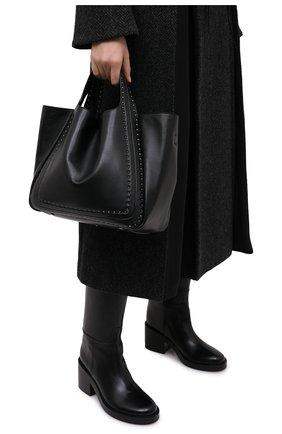 Женский сумка-шопер valentino garavani atelier VALENTINO черного цвета, арт. UW0B0H86/GXU | Фото 2