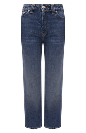 Женские джинсы GANNI синего цвета, арт. F5180 | Фото 1
