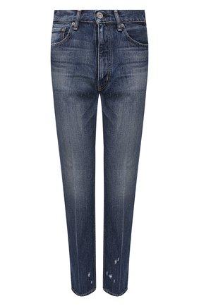 Женские джинсы MOUSSY голубого цвета, арт. 025DAC11-2270 | Фото 1