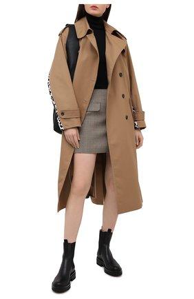 Женские кожаные челси GIANVITO ROSSI черного цвета, арт. G73462.20G0M.CLNNER0 | Фото 2