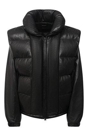 Женская кожаная куртка ISABEL MARANT черного цвета, арт. MA0863-20H014I/MAL0RY | Фото 1
