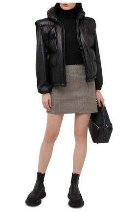Женская кожаная куртка ISABEL MARANT черного цвета, арт. MA0863-20H014I/MAL0RY | Фото 2