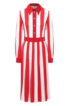 Женское платье DOLCE & GABBANA красного цвета, арт. F6H2TT/FSRMG | Фото 1