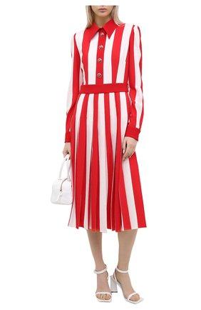 Женское платье DOLCE & GABBANA красного цвета, арт. F6H2TT/FSRMG | Фото 2