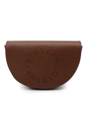 Женская сумка stella logo STELLA MCCARTNEY коричневого цвета, арт. 700083/W8542 | Фото 1