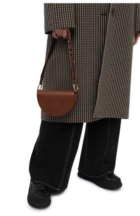 Женская сумка stella logo STELLA MCCARTNEY коричневого цвета, арт. 700083/W8542 | Фото 2