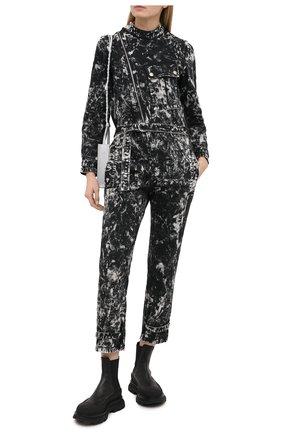 Женский джинсовый комбинезон STELLA MCCARTNEY серого цвета, арт. 602148/S0H22   Фото 2