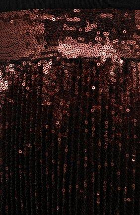 Женская юбка DOLCE & GABBANA бронзового цвета, арт. F4BYGT/FLMK4 | Фото 5