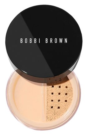 Рассыпчатая пудра sheer finish loose powder, warm natural BOBBI BROWN бесцветного цвета, арт. ENPW-06   Фото 1