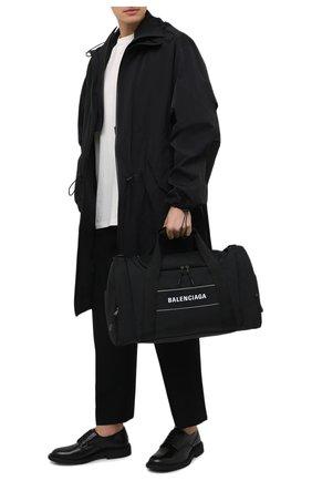 Мужская текстильная дорожная сумка sport BALENCIAGA черного цвета, арт. 638128/2HFNX   Фото 2