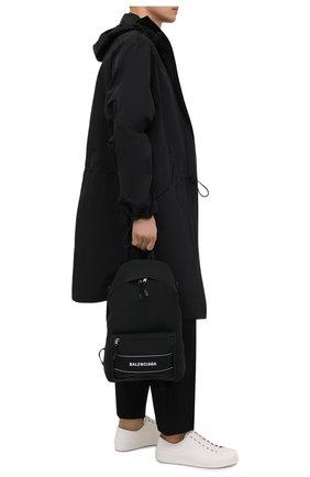 Мужской текстильный рюкзак sport BALENCIAGA черного цвета, арт. 638106/2HF0X | Фото 2