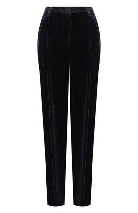 Женские брюки из вискозы GIORGIO ARMANI синего цвета, арт. 0WHPP0DQ/T01VL | Фото 1