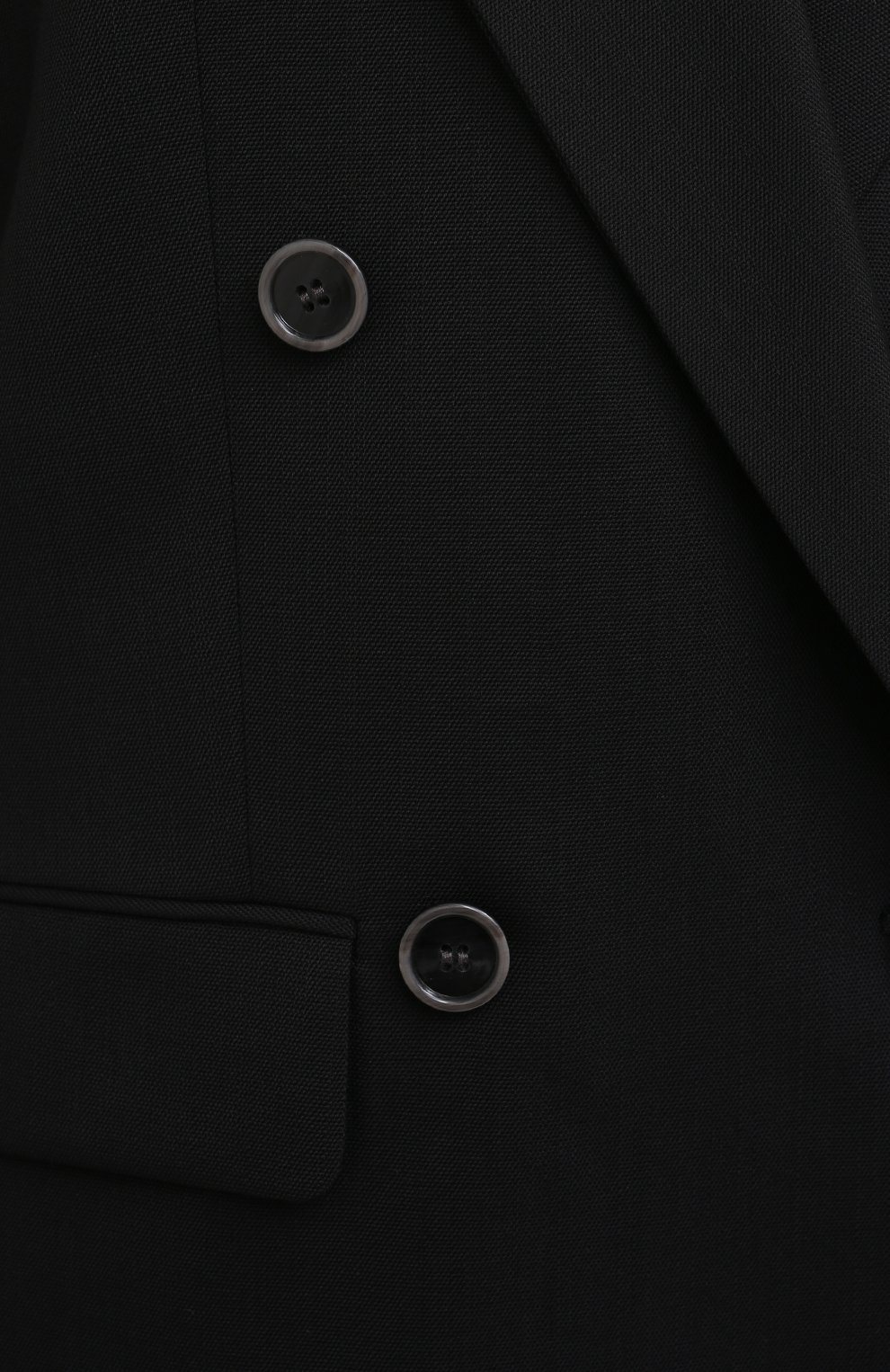 Женский жакет ACNE STUDIOS черного цвета, арт. AH0104 | Фото 5