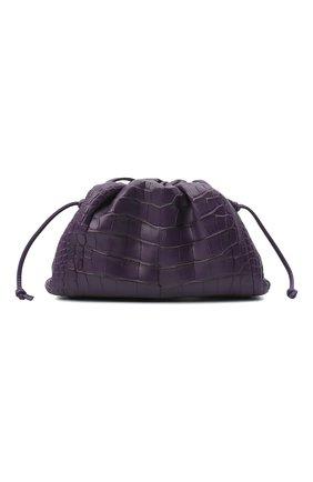 Женский клатч pouch 20 из кожи аллигатора BOTTEGA VENETA фиолетового цвета, арт. 585852/VCPX2/AMIS | Фото 1