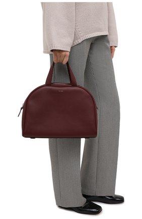 Женская сумка THE ROW бордового цвета, арт. W1261L129 | Фото 2
