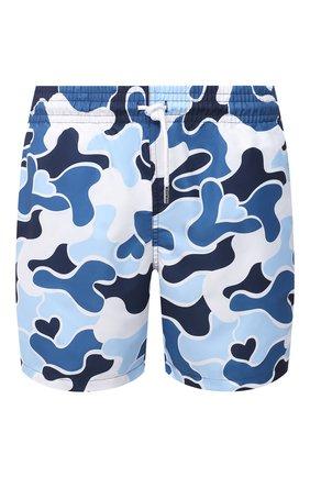 Мужские плавки-шорты DEREK ROSE синего цвета, арт. 9761-MAUI027 | Фото 1