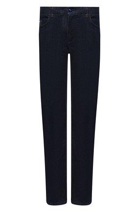 Мужские джинсы ZILLI темно-синего цвета, арт. MCU-00640-PECH1/R001 | Фото 1