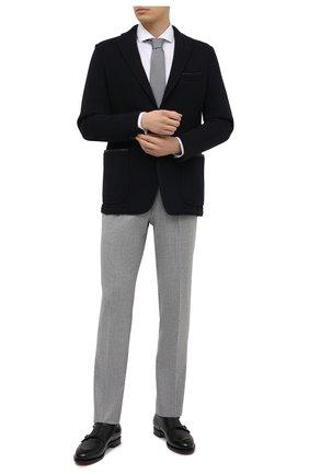 Мужской пиджак из шерсти и кашемира ZILLI темно-синего цвета, арт. MNU-ECKX-2-D6532/0001 | Фото 2