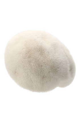 Женский берет из меха норки FURLAND бежевого цвета, арт. 0013600110027300576   Фото 2