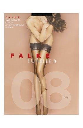 Женские чулки lynelle 8 FALKE черного цвета, арт. 41532 | Фото 1