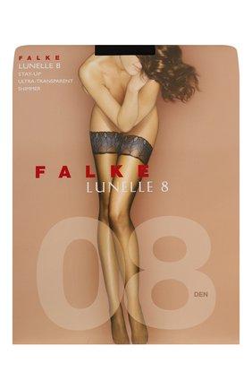 Женские чулки lynelle 8 FALKE черного цвета, арт. 41534 | Фото 1