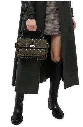 Женская сумка valentino garavani rockstud spike VALENTINO хаки цвета, арт. UW0B0H70/FZM | Фото 2