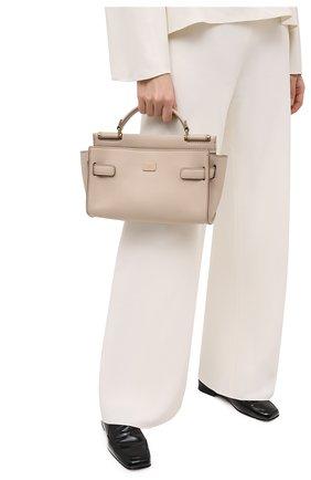Женская сумка sicily DOLCE & GABBANA бежевого цвета, арт. BB6961/A0041 | Фото 2