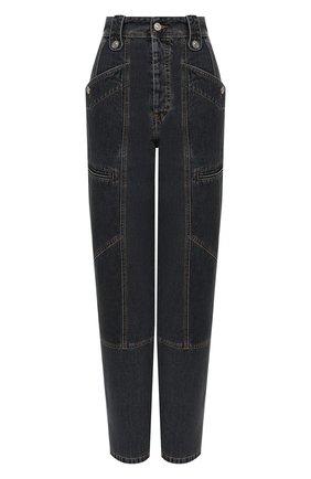 Женские джинсы ISABEL MARANT ETOILE темно-серого цвета, арт. PA1398-20A034E/NEK0 | Фото 1