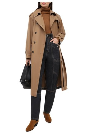 Женские джинсы ISABEL MARANT ETOILE темно-серого цвета, арт. PA1398-20A034E/NEK0 | Фото 2