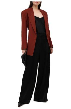 Женские брюки ESCADA черного цвета, арт. 5034435   Фото 2