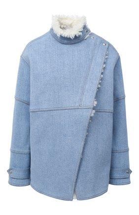 Женская джинсовая куртка STELLA MCCARTNEY синего цвета, арт. 602141/S0H18 | Фото 1