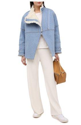 Женская джинсовая куртка STELLA MCCARTNEY синего цвета, арт. 602141/S0H18 | Фото 2