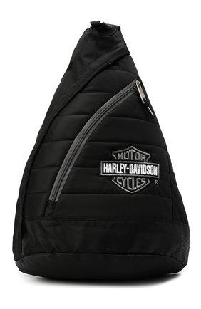 Мужской рюкзак HARLEY-DAVIDSON черного цвета, арт. 90820 | Фото 1