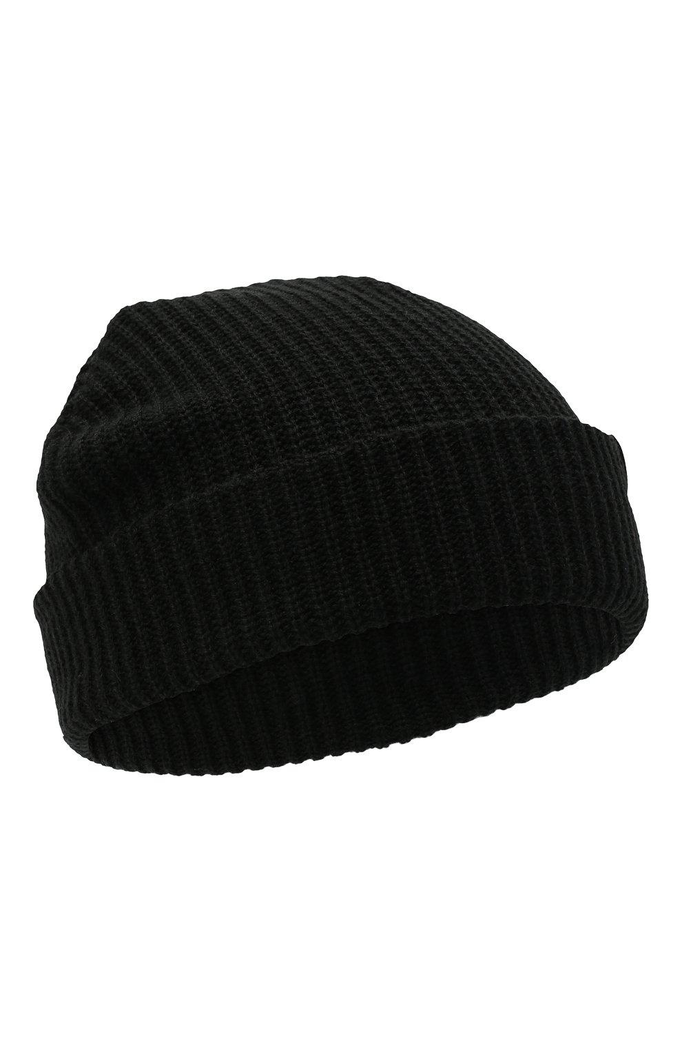 Мужская шапка HARLEY-DAVIDSON черного цвета, арт. 97601-21VM | Фото 1 (Материал: Текстиль, Синтетический материал; Кросс-КТ: Трикотаж)