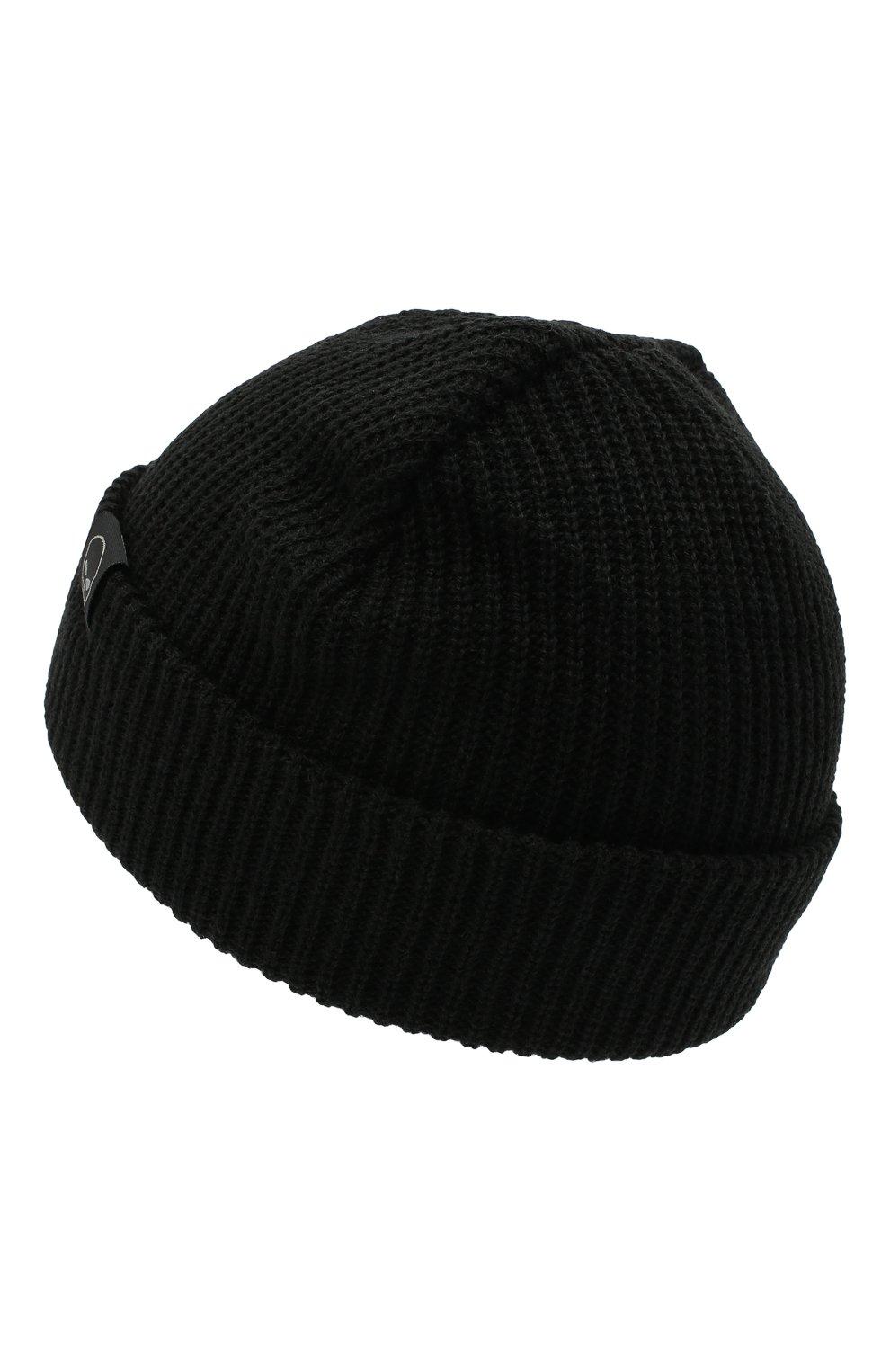 Мужская шапка HARLEY-DAVIDSON черного цвета, арт. 97601-21VM | Фото 2 (Материал: Текстиль, Синтетический материал; Кросс-КТ: Трикотаж)