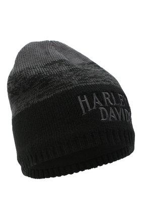 Мужская шапка HARLEY-DAVIDSON серого цвета, арт. 97608-21VM | Фото 1