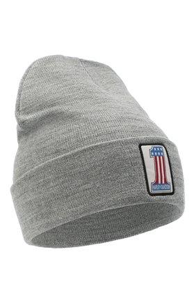 Мужская шапка HARLEY-DAVIDSON серого цвета, арт. 97636-21VM | Фото 1