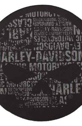 Набор из 4-х подставок под бокалы HARLEY-DAVIDSON черного цвета, арт. CS119980   Фото 2