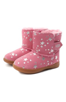 Детские угги keelan stars UGG розового цвета, арт. 1115840T_WBRR   Фото 1
