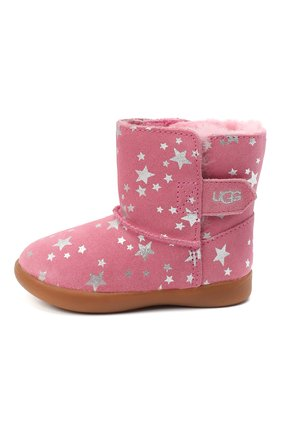 Детские угги keelan stars UGG розового цвета, арт. 1115840T_WBRR   Фото 2