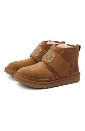 Детские ботинки neumel ii graphic UGG коричневого цвета, арт. 1110703K_CHE   Фото 1