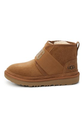 Детские ботинки neumel ii graphic UGG коричневого цвета, арт. 1110703K_CHE   Фото 2