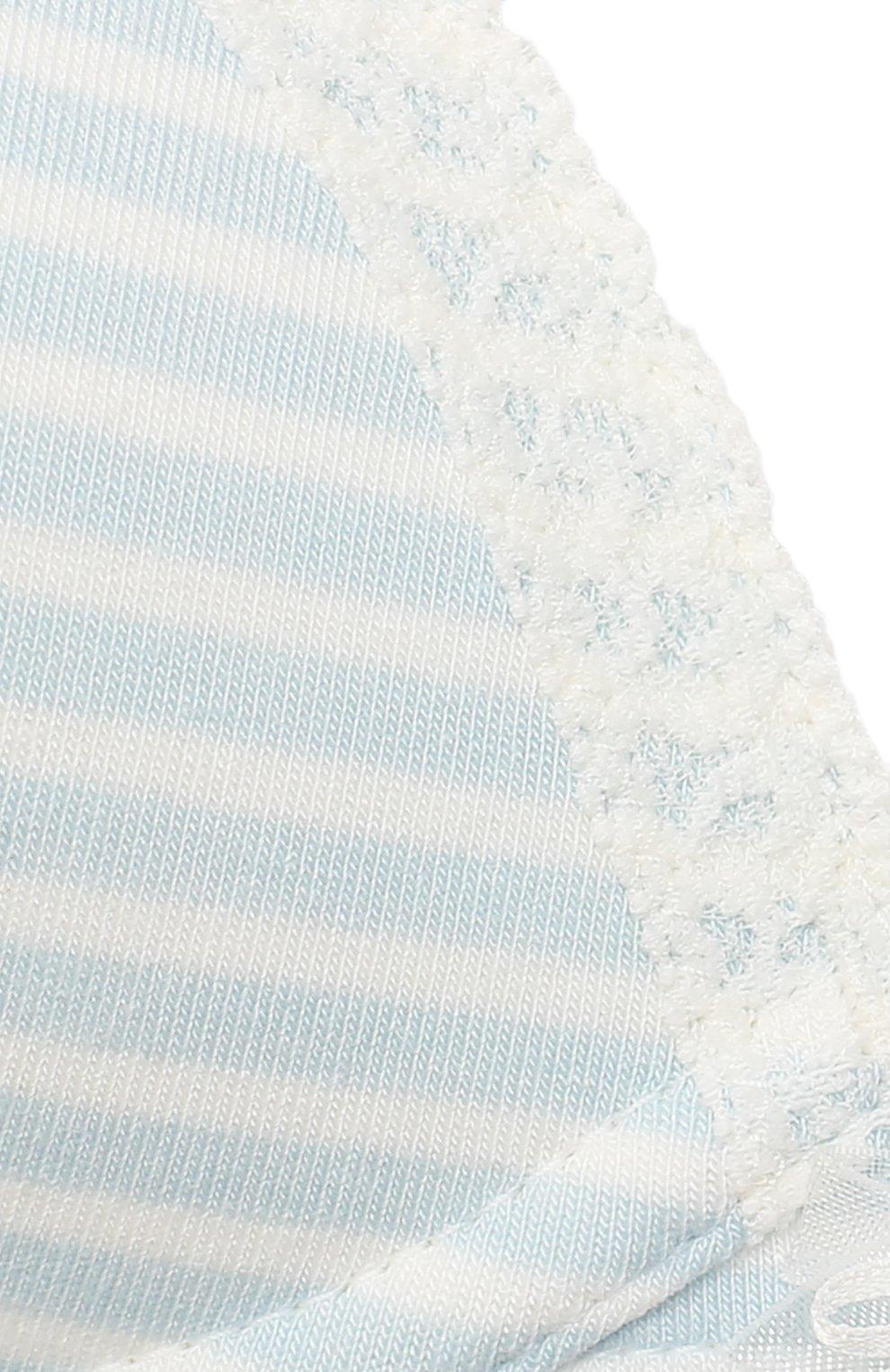 Детский бюстгальтер SANETTA светло-голубого цвета, арт. 346334   Фото 3