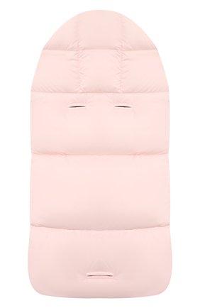 Детский пуховый конверт MONCLER светло-розового цвета, арт. F2-951-1G509-02-53333 | Фото 2