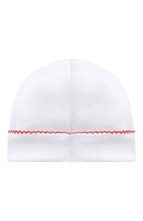 Детского хлопковая шапка KISSY KISSY белого цвета, арт. KN504634N | Фото 2